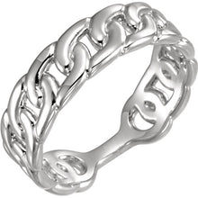 14k Interlocking Link Ring