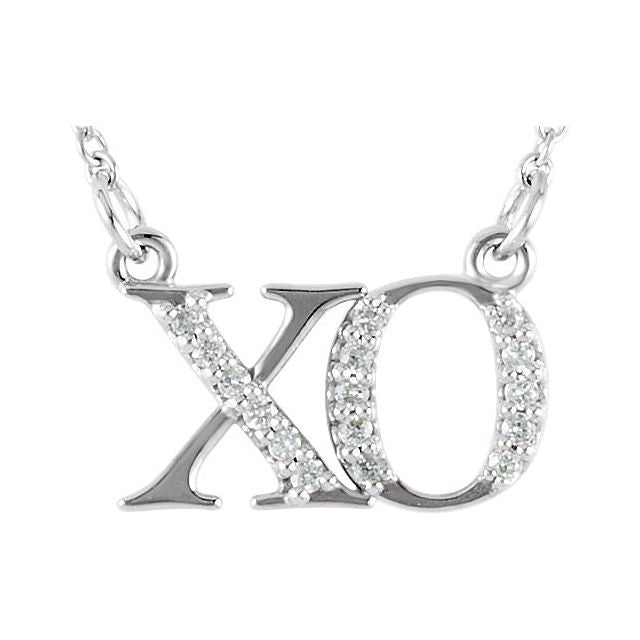 "14K ""XO"" Necklace"