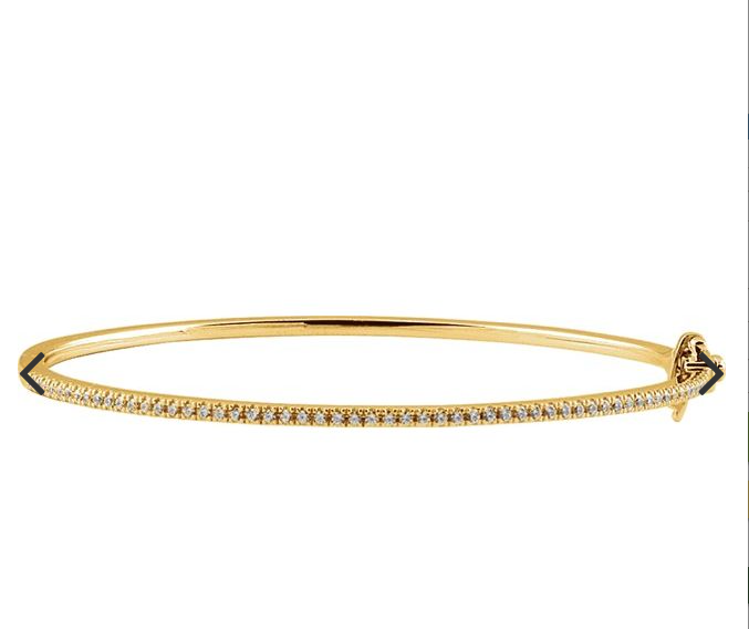 "14K Yellow 1/2 CTW Diamond Pavé' 7"" Bracelet"