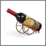 Bronze Colored Wine Bottle Holder