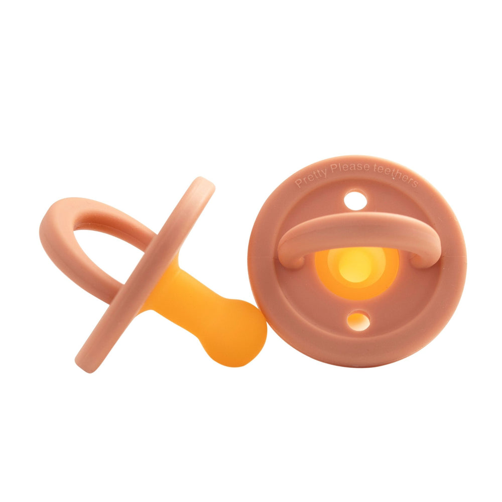 Modern Pacifier || Sandstone || Silicone Pacifier - Pretty Please Teethers
