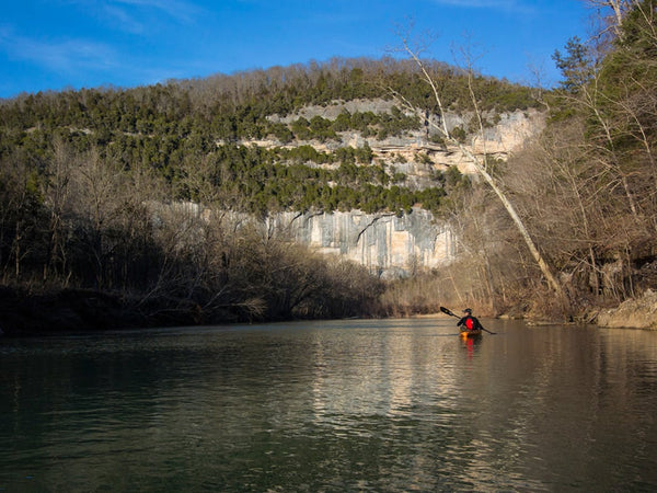 Paddling Arkansas' Buffalo River in Winter