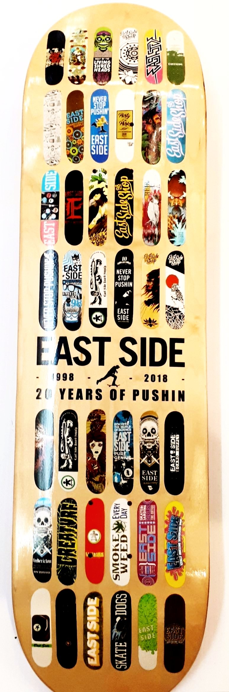 East Side 20 Year Deck