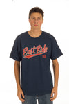 East Side Baseball Script Tee