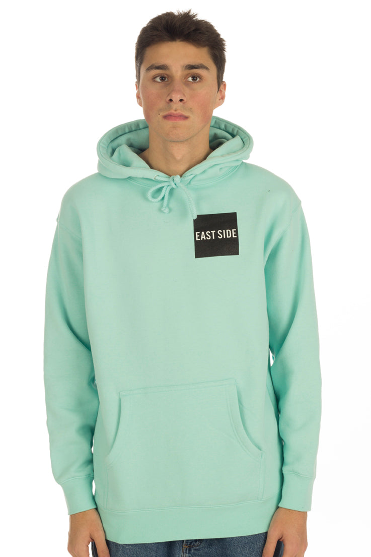 East Side Never Stop Box Logo Hoodie