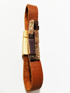 Adventurer Leather Bracelet