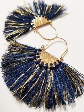 Franja Azul Earrings