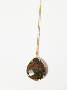Faceted Gemstone Pendants