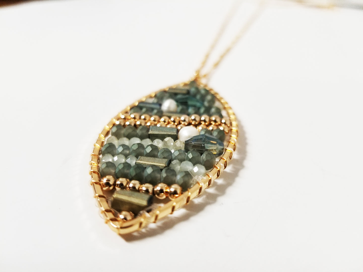 Coracle Inspired Necklace