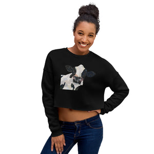 Moo Crop Sweatshirt