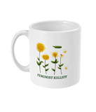 Feminist Killjoy Botanical 11oz Mug