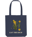Eat The Rich Botanical Tote Bag