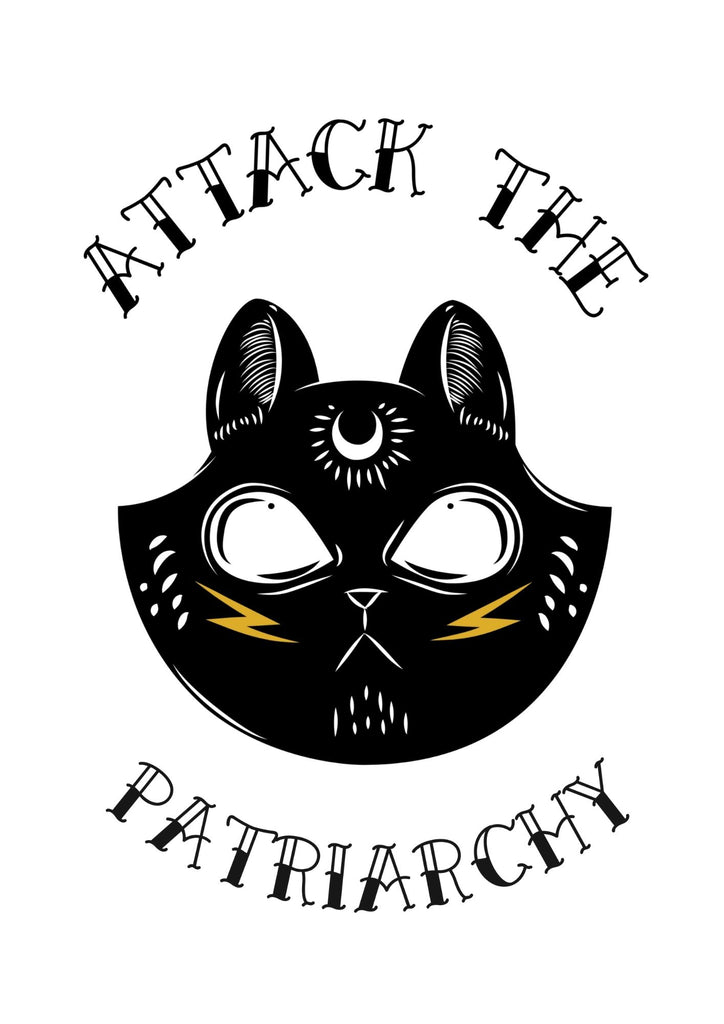 Attack The Patriarchy Printable Wall Art