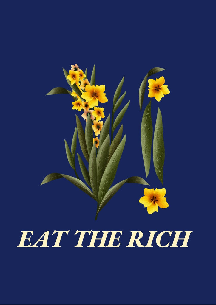 Eat The Rich Printable Wall Art