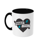 Punky Family Dots Logo Two Toned Mug