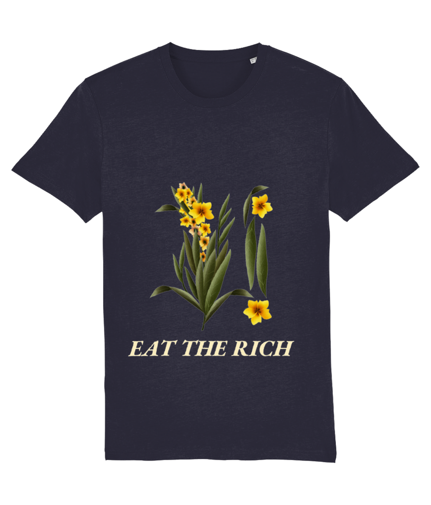Eat the Rich Botanical T Shirt