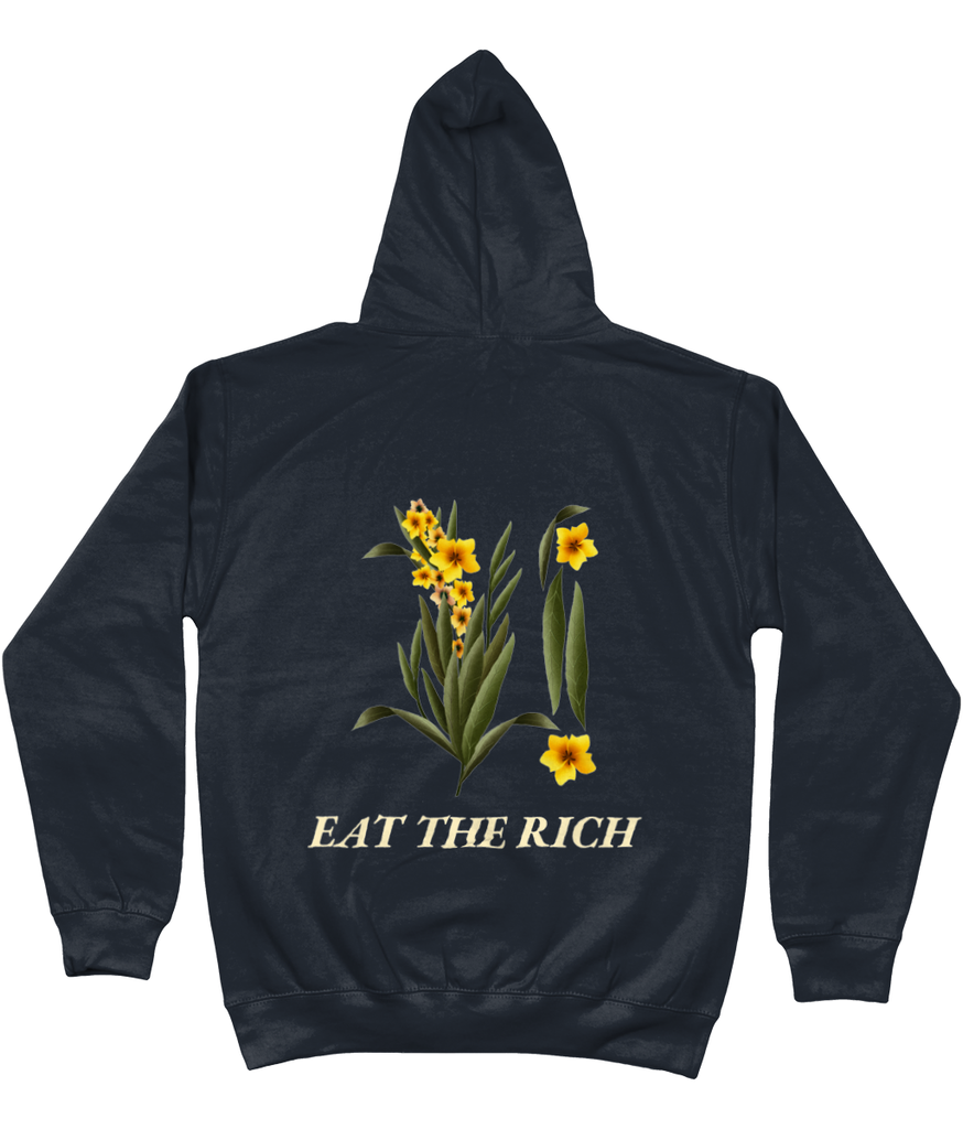Eat The Rich Botanical Pullover Hoodie