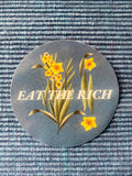 Eat The Rich Botanical Sticker