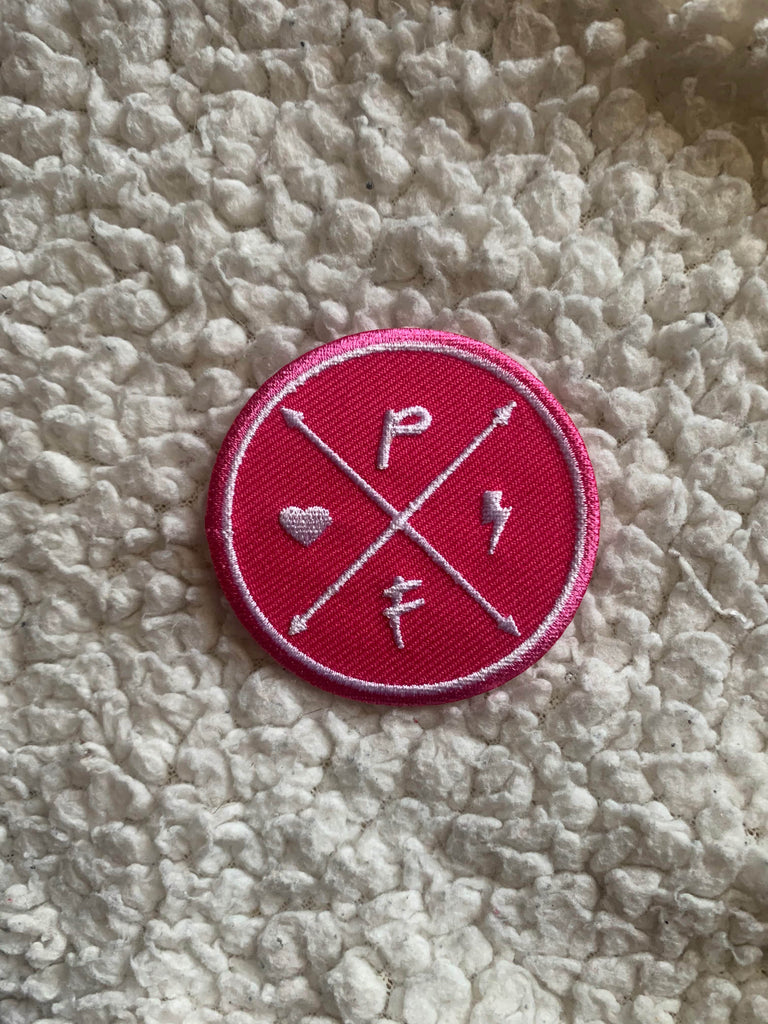 Punky Family Logo Patch (3 COLOURS)