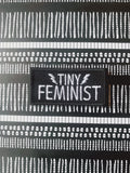 Tiny Feminist Embroidered Patch (2 COLOURS)