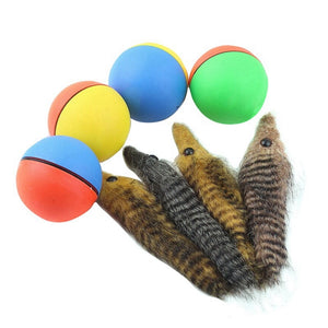Home Play Electric Weasel Rolling Ball Pet Toys