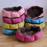 Designer Dots Snug Pet House