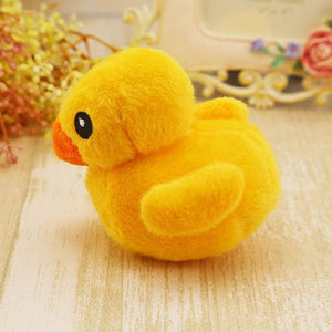Ducky Dog Chewy Plush Squeak Toy