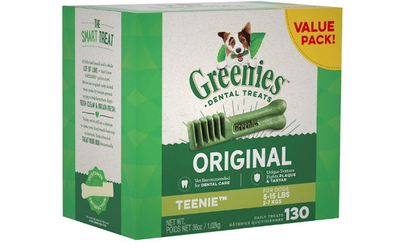 Doggy Dental Treats - 130 Pack