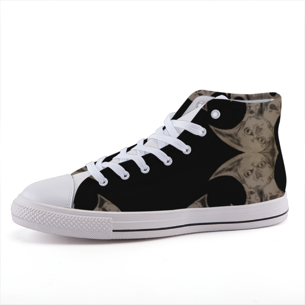 Tribal High-top fashion canvas shoes