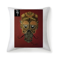 Steampunk skullie Multisized Premium Microfiber Fabric Throw Square Pillow Covers High Elastic Polypropylene Cotton Insert