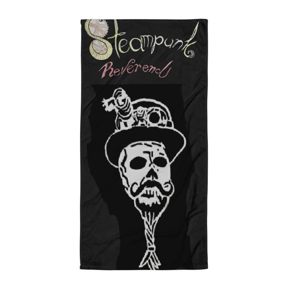 Steampunk Reverend logo Towel