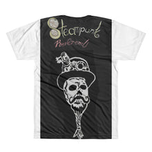 Skull with logo on back All-Over Printed T-Shirt