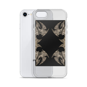 Tribal skulls iPhone Case