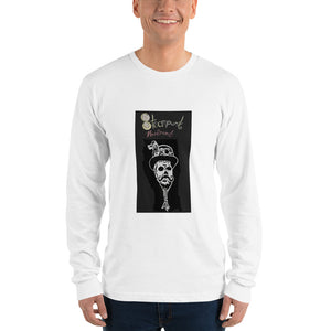 Steampunk Reverend logo Long sleeve t-shirt (unisex)