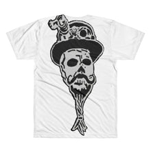 #steampunk Octoskull with skullie on back All-Over Printed T-Shirt