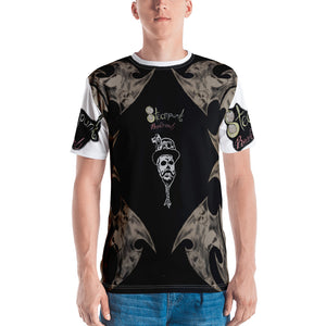 Steampunk skullie tribal  Men's T-shirt