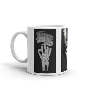 Steampunkreverend middle finger   Mug