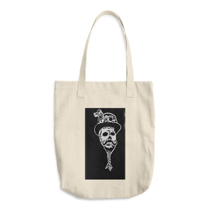 Steampunk skullie Cotton Tote Bag