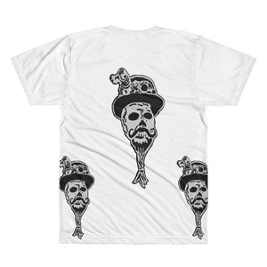 Steampunk skullie All-Over Printed T-Shirt