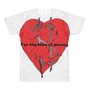 Heart money Printed T-Shirt
