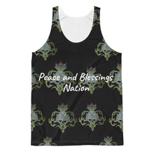 Peace and blessings Nation gold skull Unisex Classic Fit Tank Top