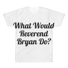WWRBD with Steampunk Reverend logo on back All-Over Printed T-Shirt