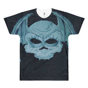 Bat winged skullie Short sleeve men's t-shirt