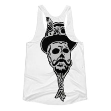 Color Skulls Women's Racerback Tank