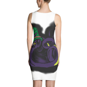 Octoskull Steampunk design Sublimation Cut & Sew Dress
