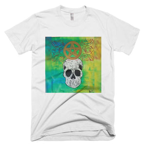 Pentagram peace skull Short-Sleeve T-Shirt