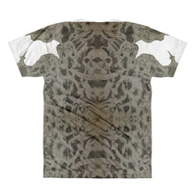 Steampunk Reverend logo skulls on backAll-Over Printed T-Shirt