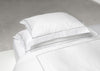 Percale oxford embroidery pillowcase 50x90