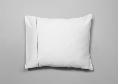 Sateen signature embroidery pillowcase