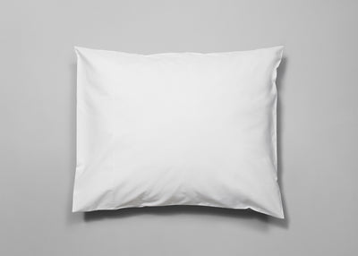 Percale signature pillowcase